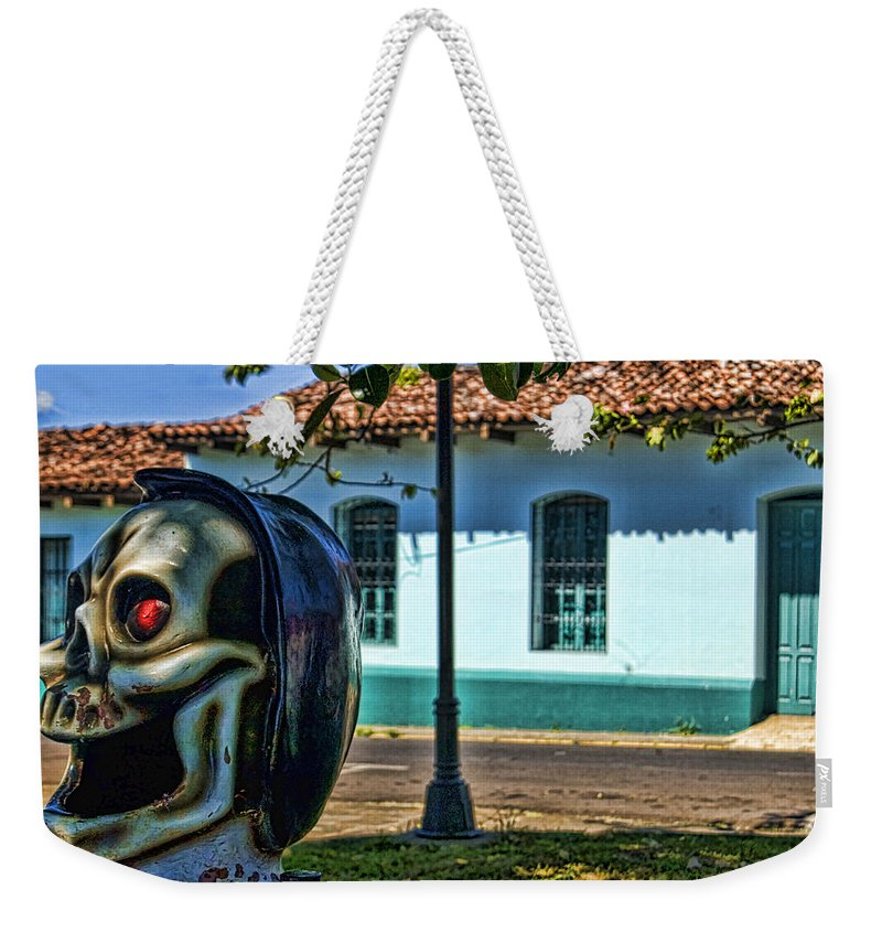 House Weekender Tote Bag featuring the photograph Traditions by Johnny Aguirre