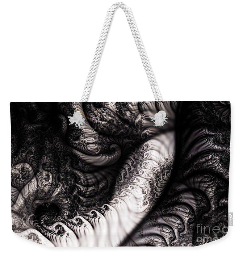 Clay Weekender Tote Bag featuring the digital art Traffic Jam by Clayton Bruster