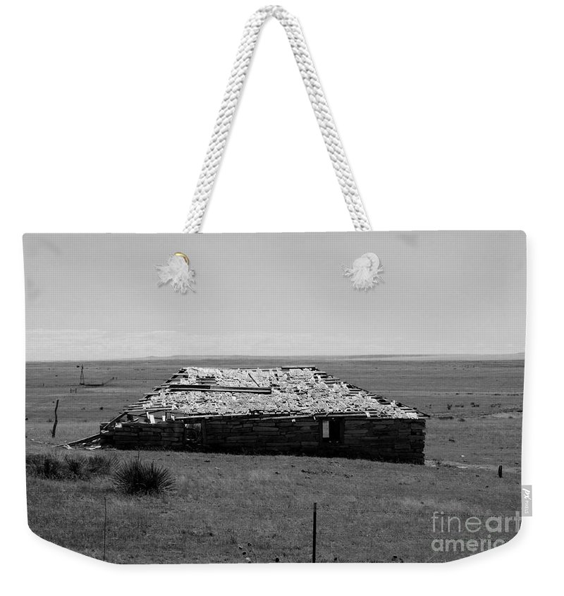 Sante Fe Trail Weekender Tote Bag featuring the photograph Trail Ghosts by Tommy Anderson