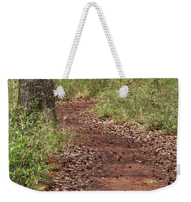 Walking Trail Photographs Weekender Tote Bag featuring the photograph Trail To Beauty by Kim Henderson