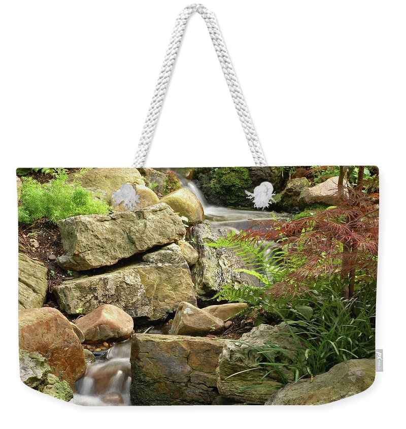 Water Weekender Tote Bag featuring the photograph Tranquility by George Buxbaum