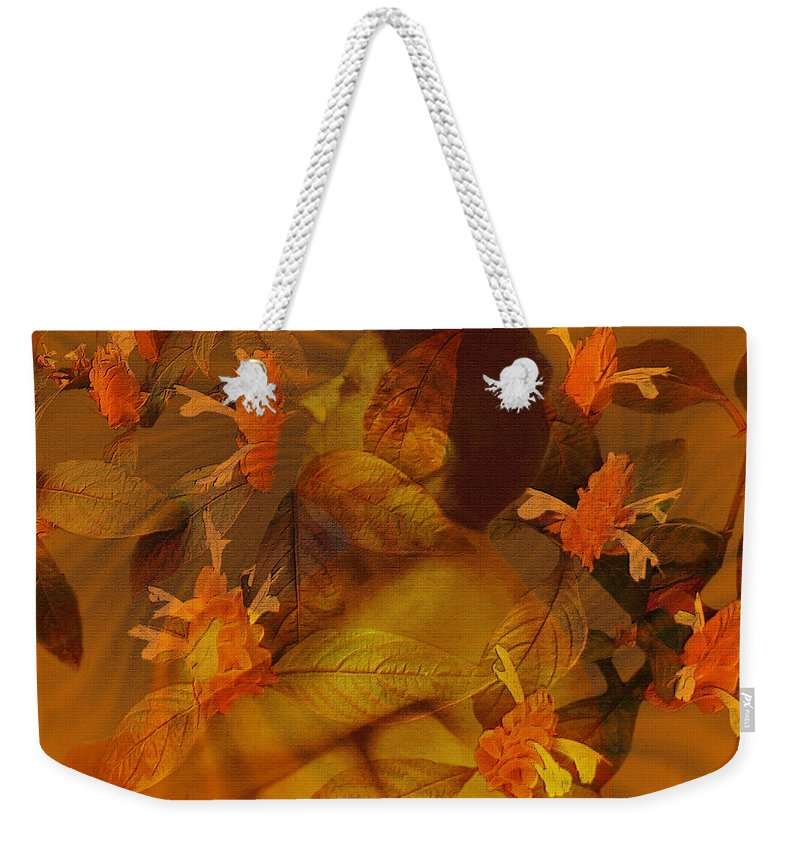 Nudes Weekender Tote Bag featuring the photograph Tranquility by Kurt Van Wagner