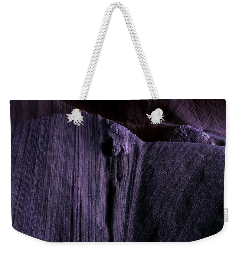 Sandstone Weekender Tote Bag featuring the photograph Transitions by Mike Dawson
