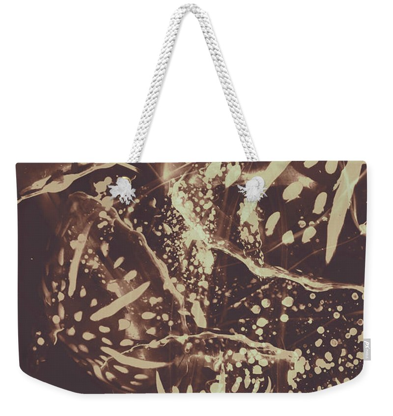 Fish Weekender Tote Bag featuring the photograph Translucent Abstraction by Jorgo Photography - Wall Art Gallery