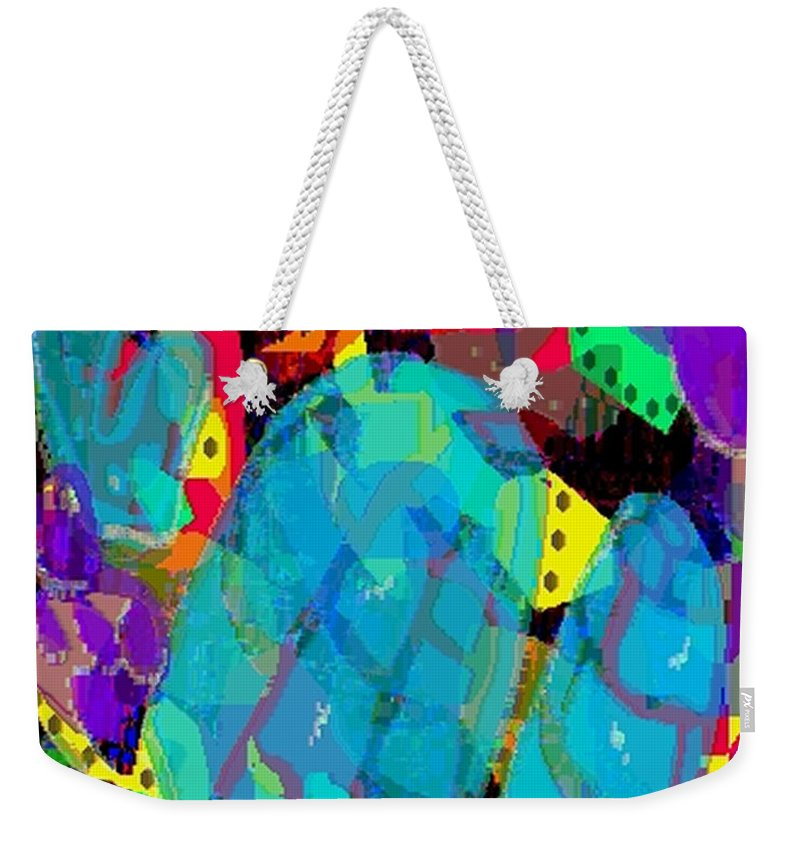 Digital Weekender Tote Bag featuring the digital art Transparencies by Ron Bissett