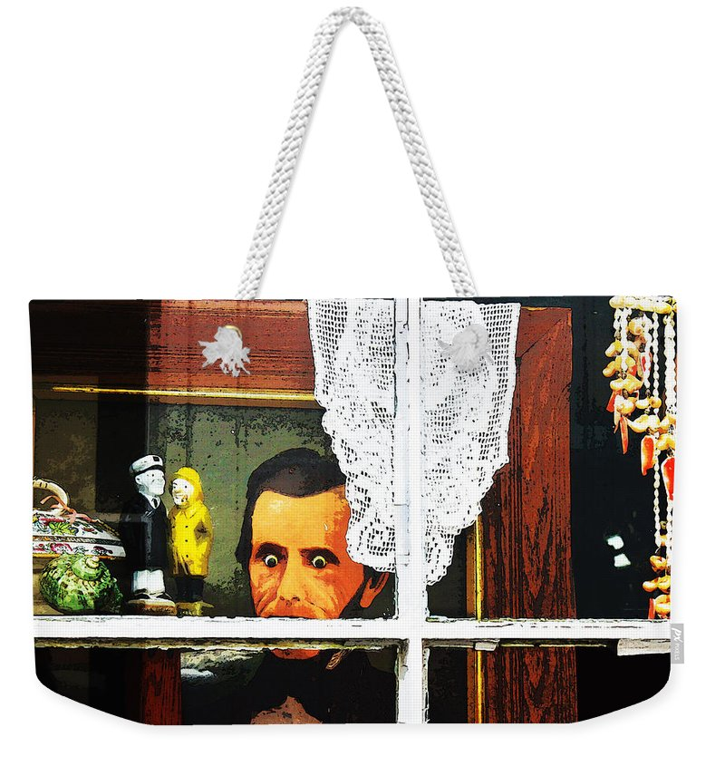 Susan Vineyard Weekender Tote Bag featuring the photograph Trapped In Cape Cod by Susan Vineyard