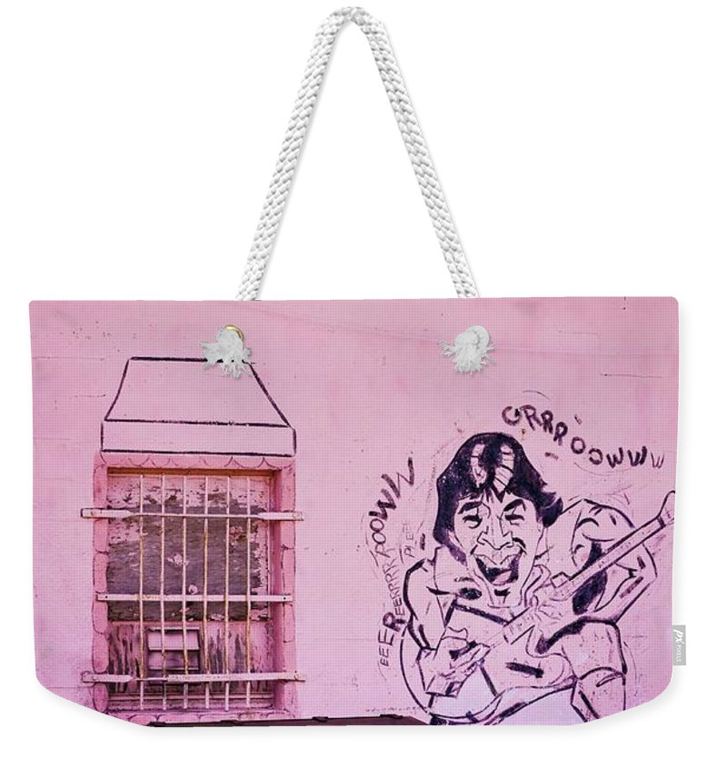 Art Weekender Tote Bag featuring the photograph Trashed Audience by Marshall Barth