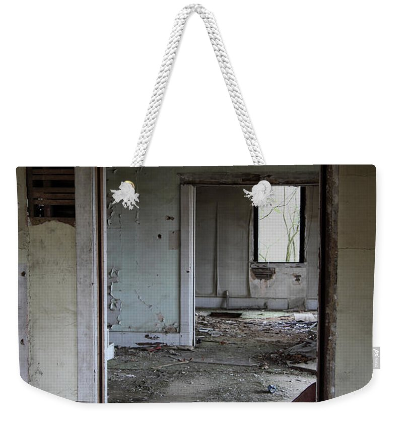 Old Houses Weekender Tote Bag featuring the photograph Travel by Amanda Barcon