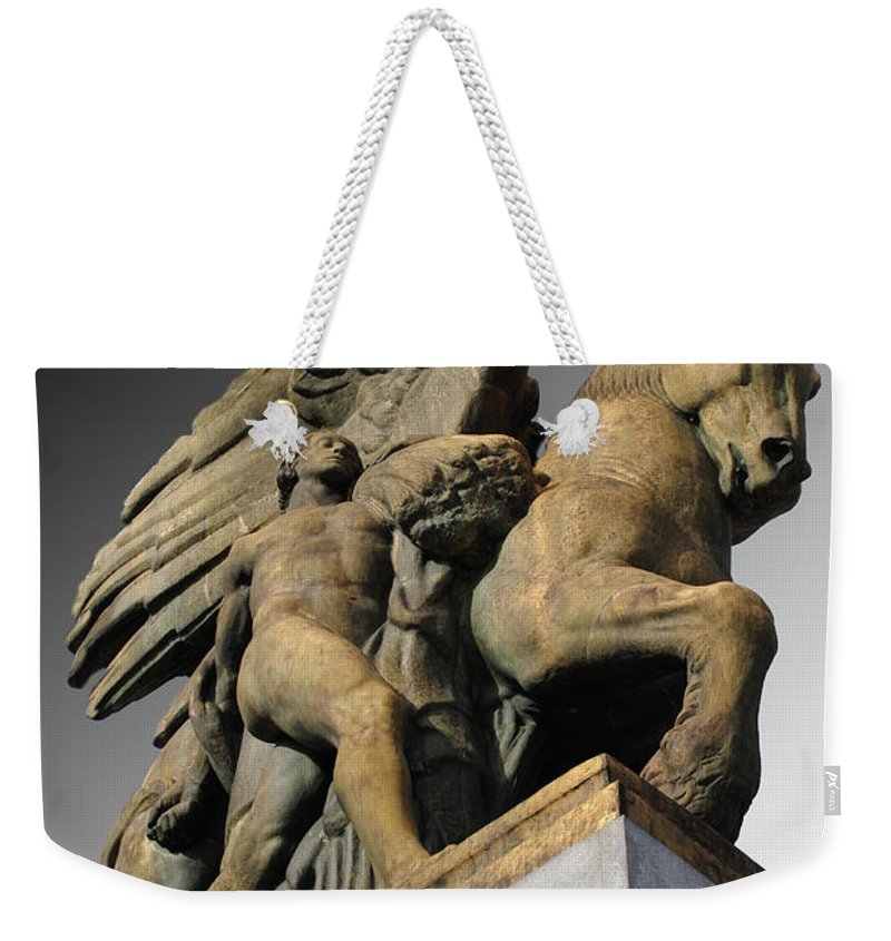 Washington Weekender Tote Bag featuring the photograph Travel-arts Of Peace by Jost Houk