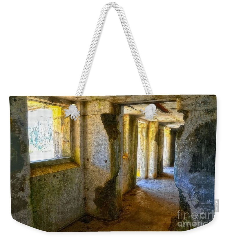 Derelict Weekender Tote Bag featuring the photograph Traveler In Time by Lauren Leigh Hunter Fine Art Photography