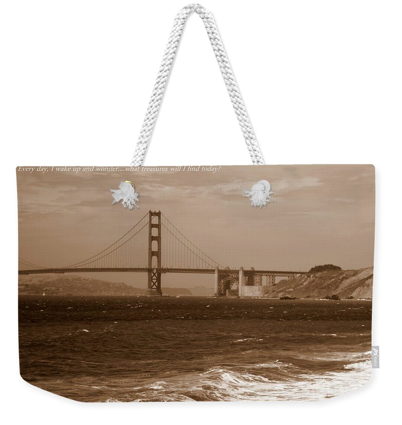 Photographers Weekender Tote Bag featuring the photograph Treasure Hunt Poster by Carol Groenen