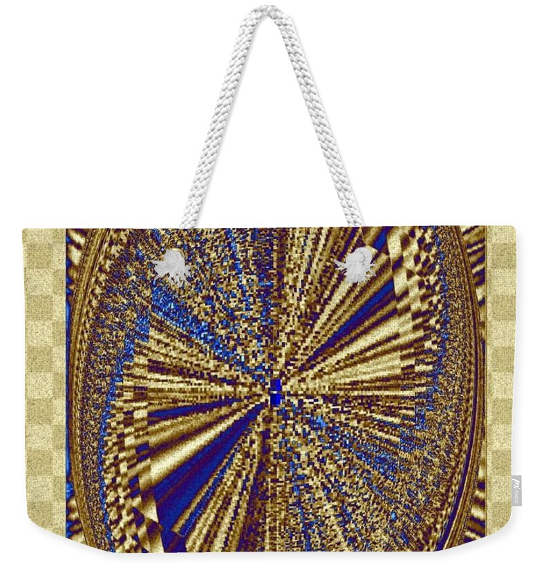 Treasure Trove Weekender Tote Bag featuring the digital art Treasure Trove Beyond by Will Borden
