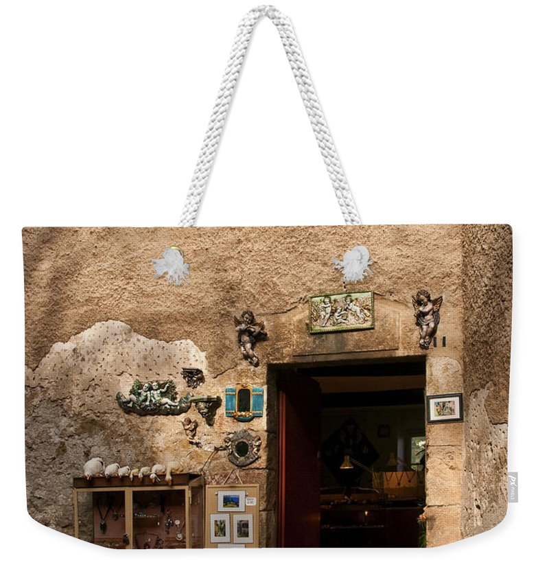 Eze France Weekender Tote Bag featuring the photograph Treasures In Eze by Steven Sparks