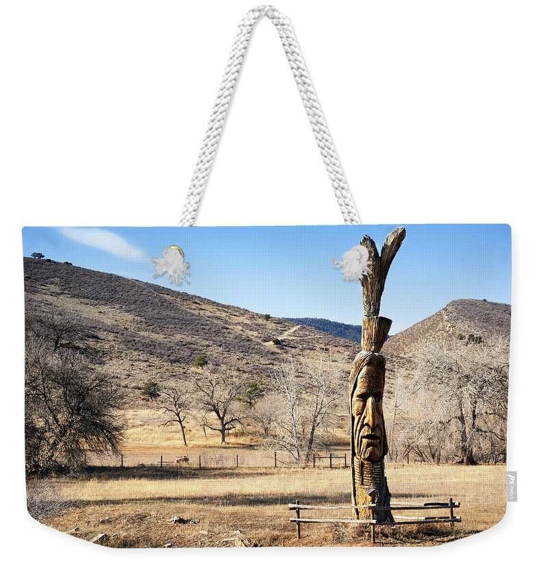 Tree Weekender Tote Bag featuring the photograph Tree Art by Marilyn Hunt