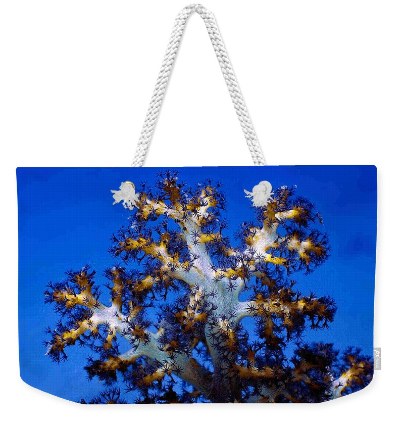 Coral Weekender Tote Bag featuring the photograph Tree Coral by Dragica Micki Fortuna