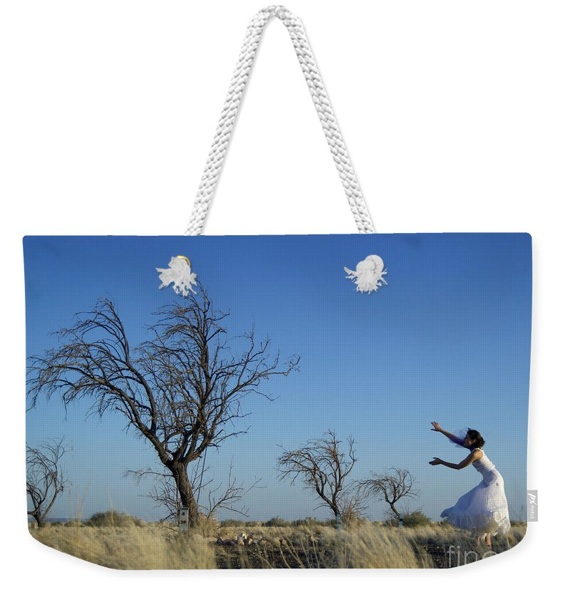 Landscape Weekender Tote Bag featuring the photograph Tree Echo by Scott Sawyer