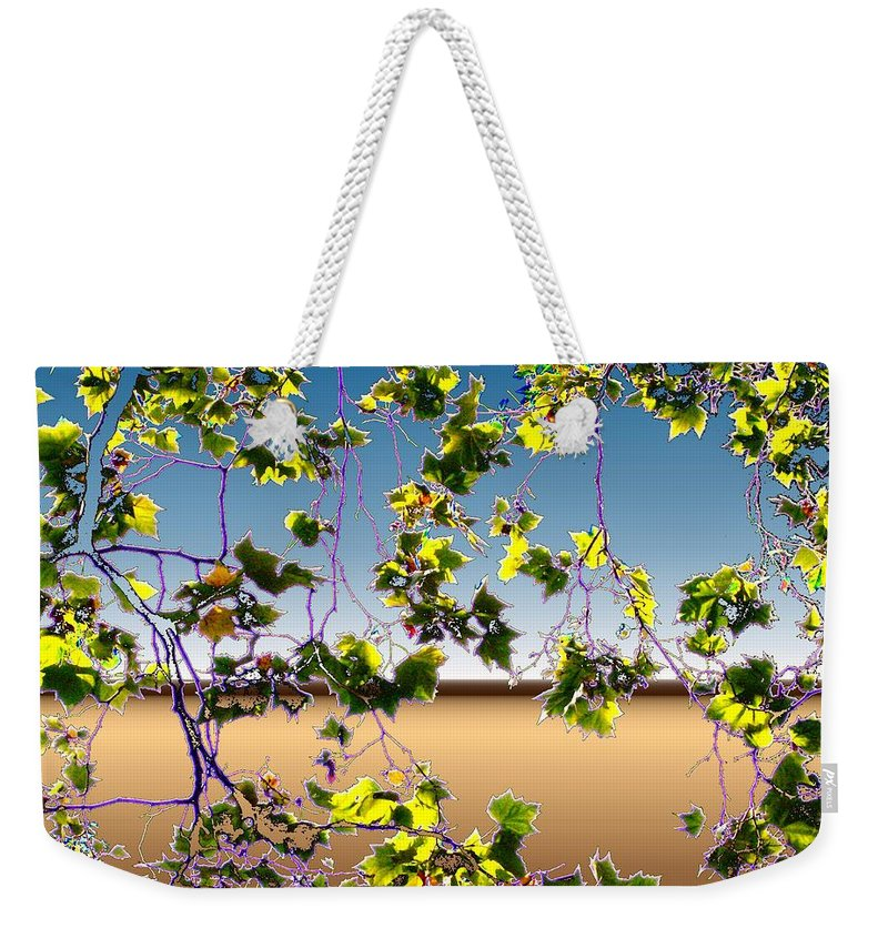 Tree Weekender Tote Bag featuring the photograph Tree Leaves by Tim Allen