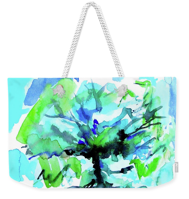 Tree Of Life Weekender Tote Bag featuring the painting Tree of Life by Seth Weaver
