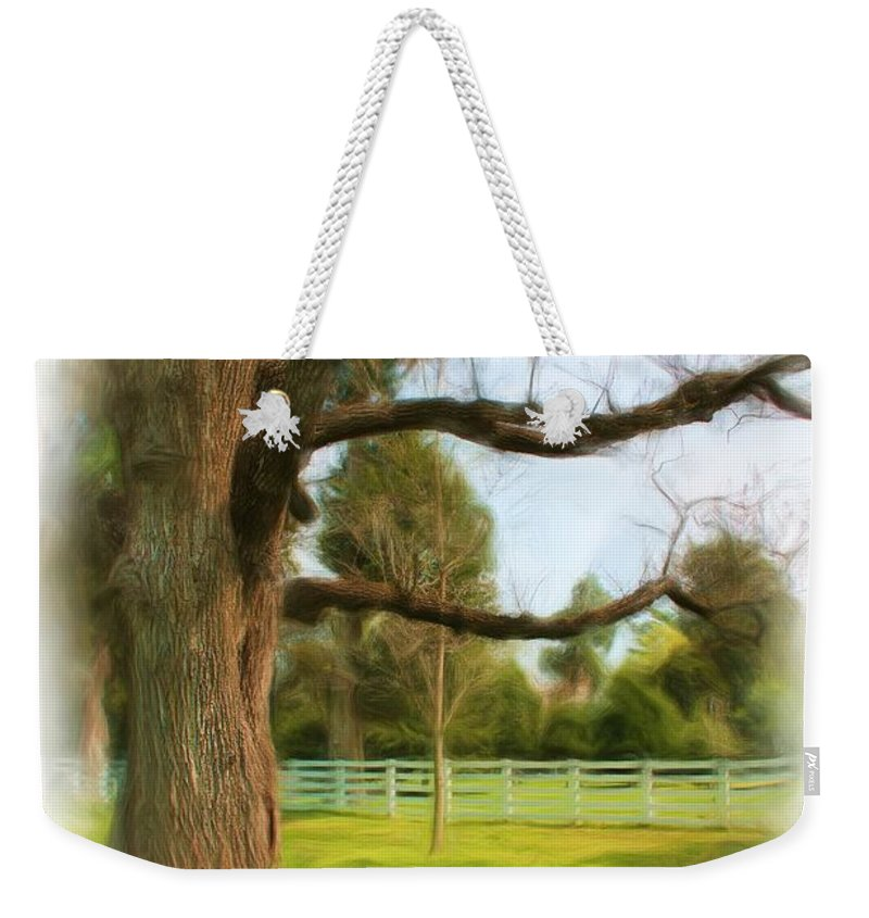 Nature Weekender Tote Bag featuring the photograph Tree Series 1323 by Carlos Diaz