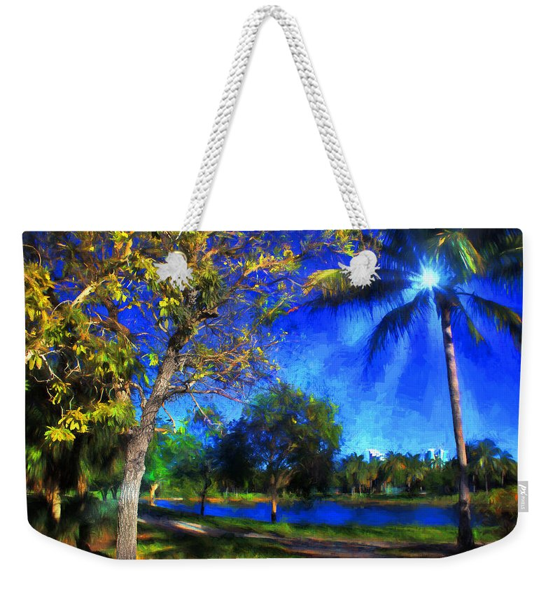 Trees Weekender Tote Bag featuring the photograph Tree Series 70 by Carlos Diaz