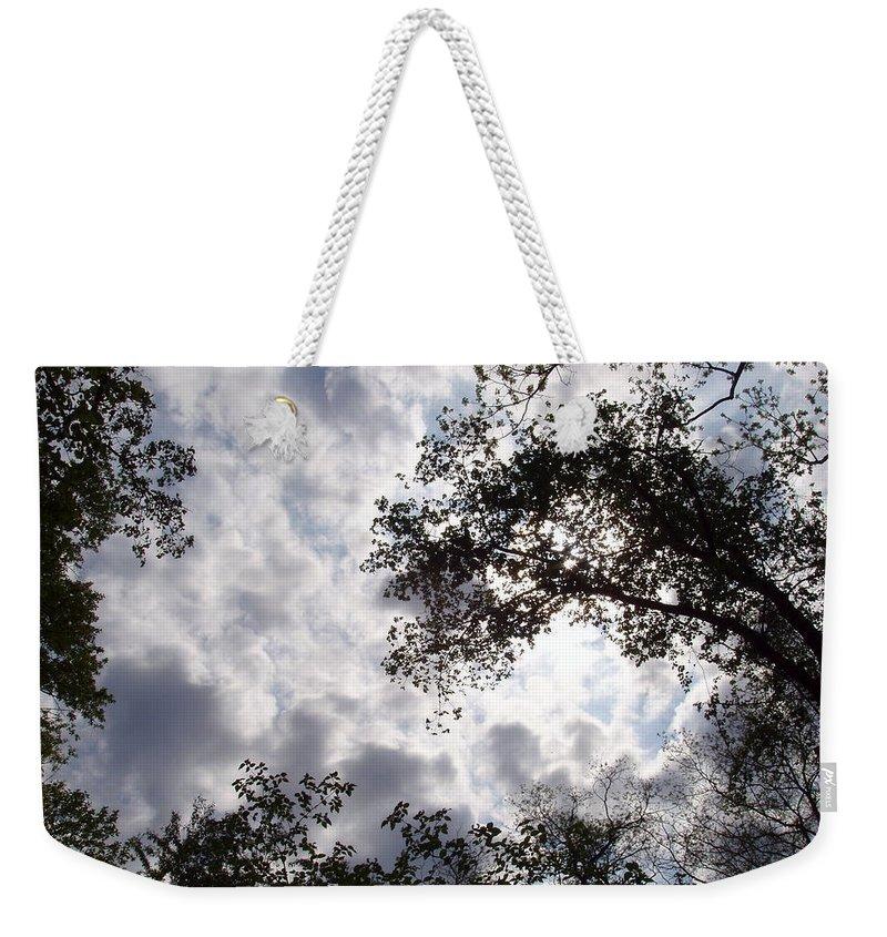 Tree Weekender Tote Bag featuring the photograph Tree Swirl by Deborah Crew-Johnson
