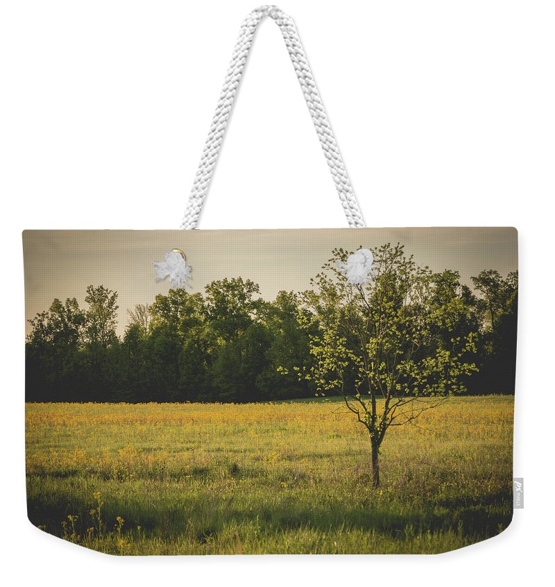 Landscape Weekender Tote Bag featuring the photograph Tree by William Tripp