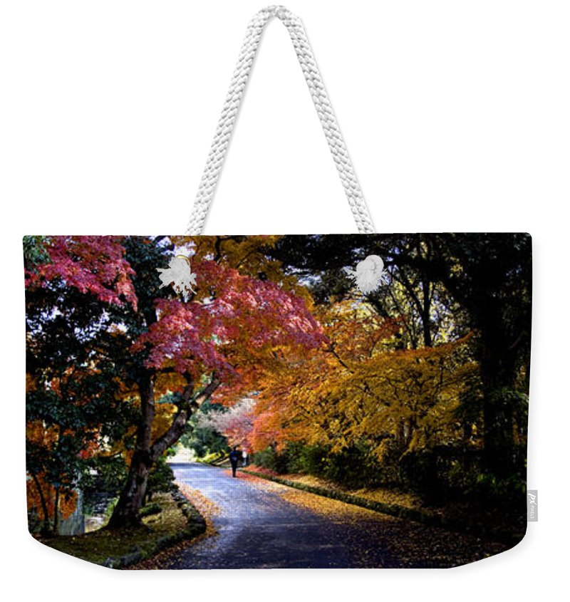 Trees Weekender Tote Bag featuring the photograph Trees In Japan 1 by George Cabig