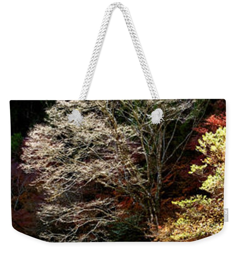 Trees Weekender Tote Bag featuring the photograph Trees In Japan 11 by George Cabig