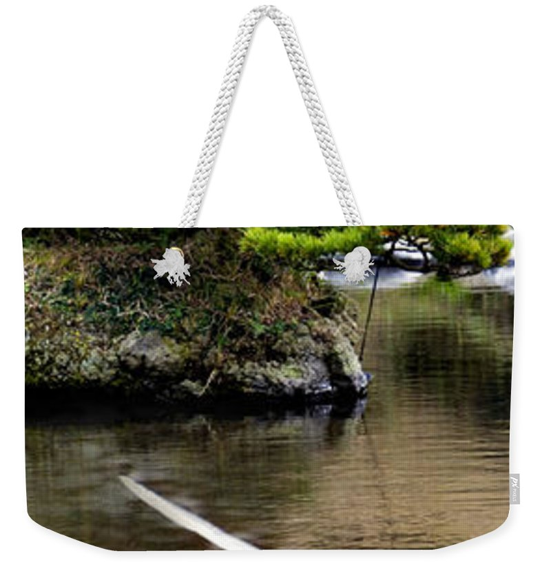Trees Weekender Tote Bag featuring the photograph Trees In Japan 14 by George Cabig