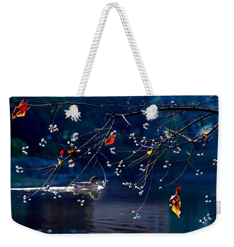 Water Weekender Tote Bag featuring the photograph Trees In Japan 5 by George Cabig