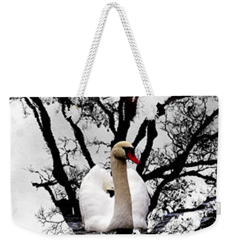 Water Weekender Tote Bag featuring the photograph Trees In Japan 6 by George Cabig