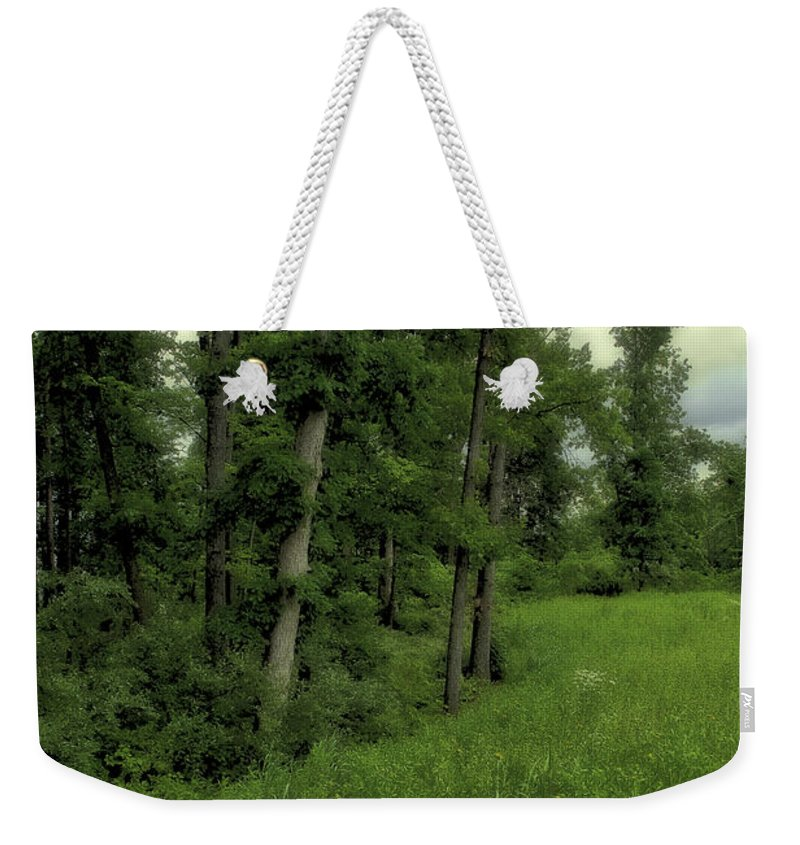 Tree Weekender Tote Bag featuring the photograph Trees by Madeline Ellis