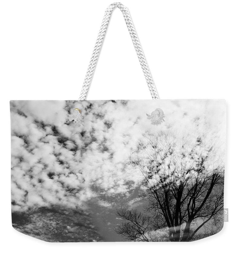 Spirit Weekender Tote Bag featuring the photograph Tree's Spirit by Munir Alawi