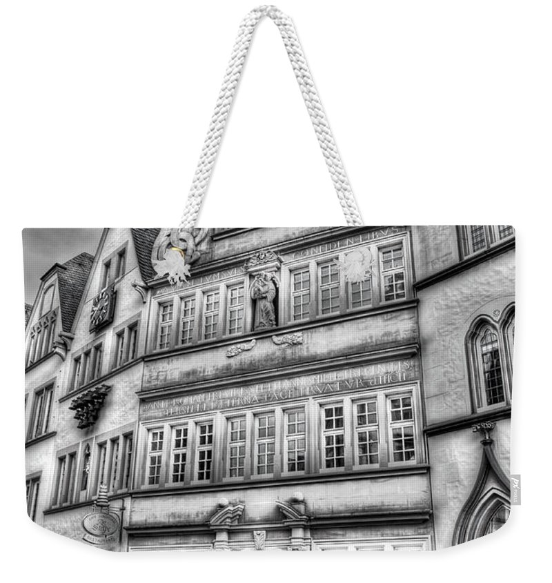 Trier Germany Weekender Tote Bag featuring the photograph Trier Germany by Bill Lindsay
