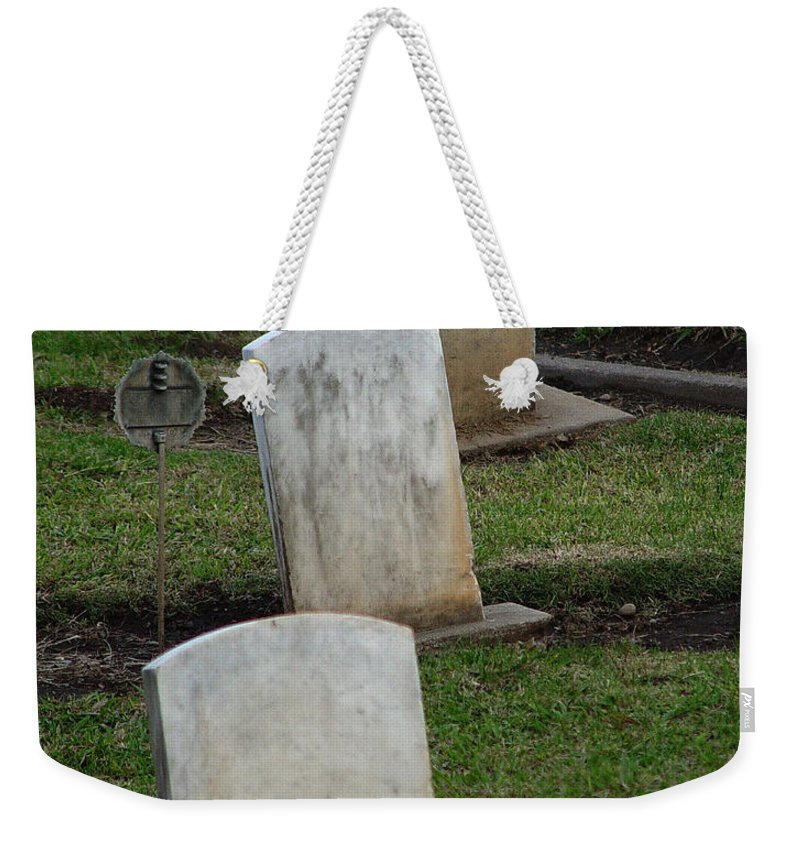 Trinity Weekender Tote Bag featuring the photograph Trinity by Peter Piatt