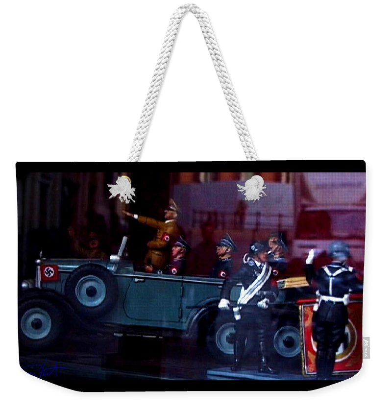 Dream Weekender Tote Bag featuring the photograph Triumph In Miniture by Charles Stuart