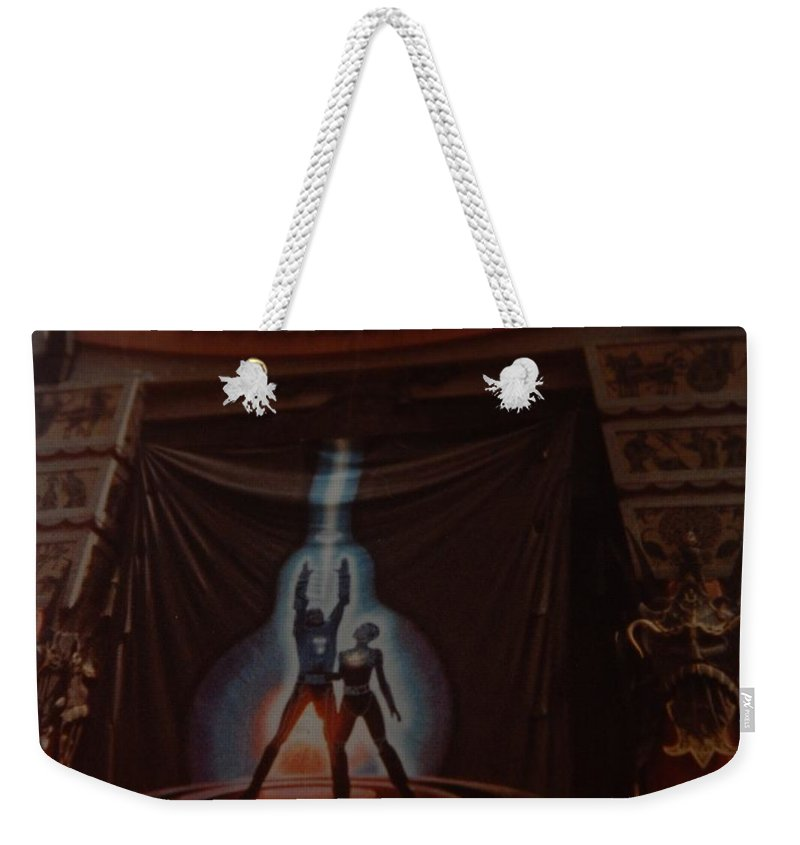 Grumanns Chinese Theater Weekender Tote Bag featuring the photograph Tron by Rob Hans