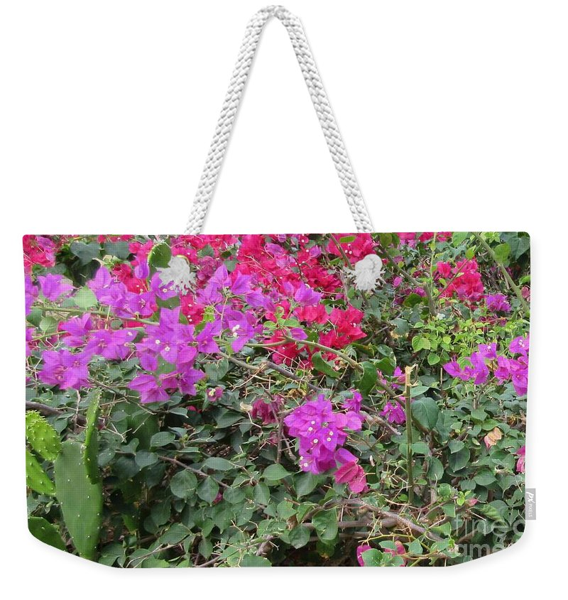 Gardens Weekender Tote Bag featuring the photograph Tropical Garden by John Malone