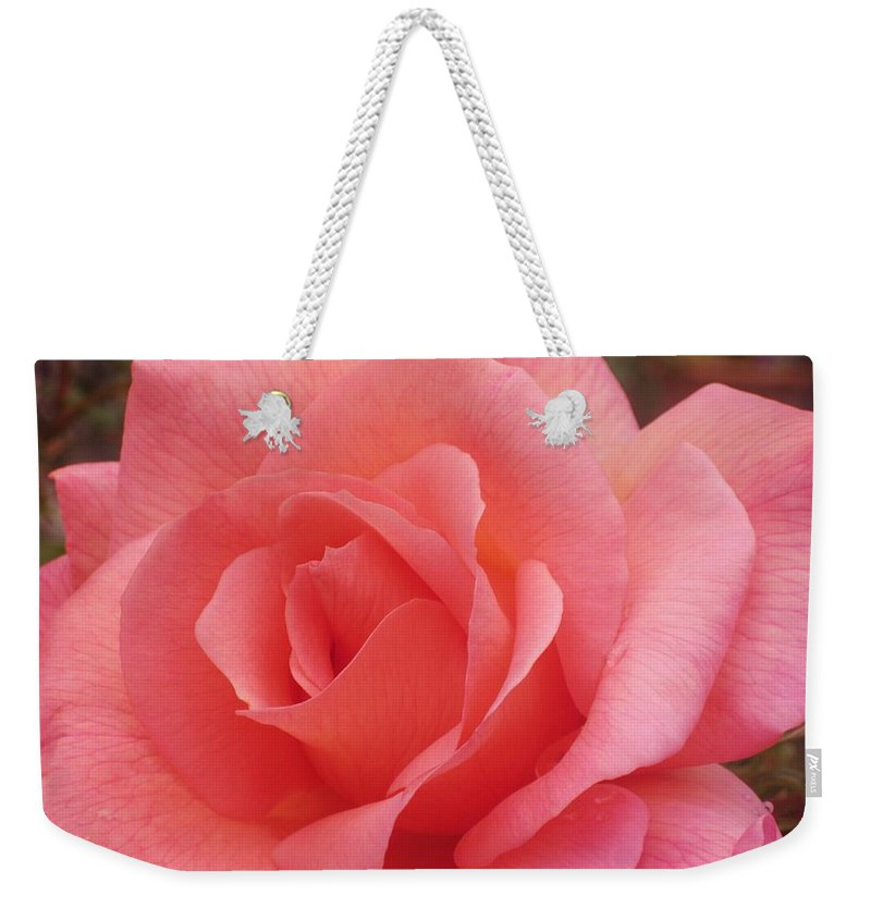 Rose Weekender Tote Bag featuring the photograph Truly Pink by JAMART Photography