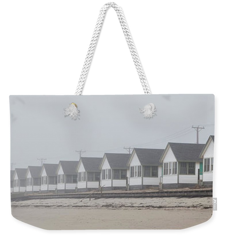 Truro Weekender Tote Bag featuring the photograph Truro Fog Imagination by Charles Harden