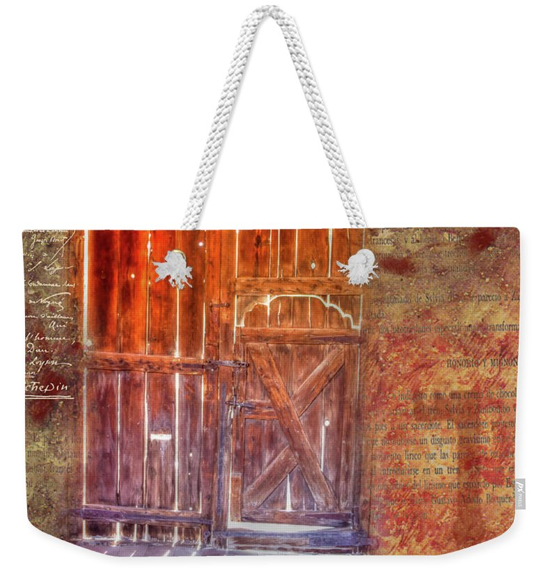 Photography Weekender Tote Bag featuring the digital art Truth Shines In by Nadine Berg