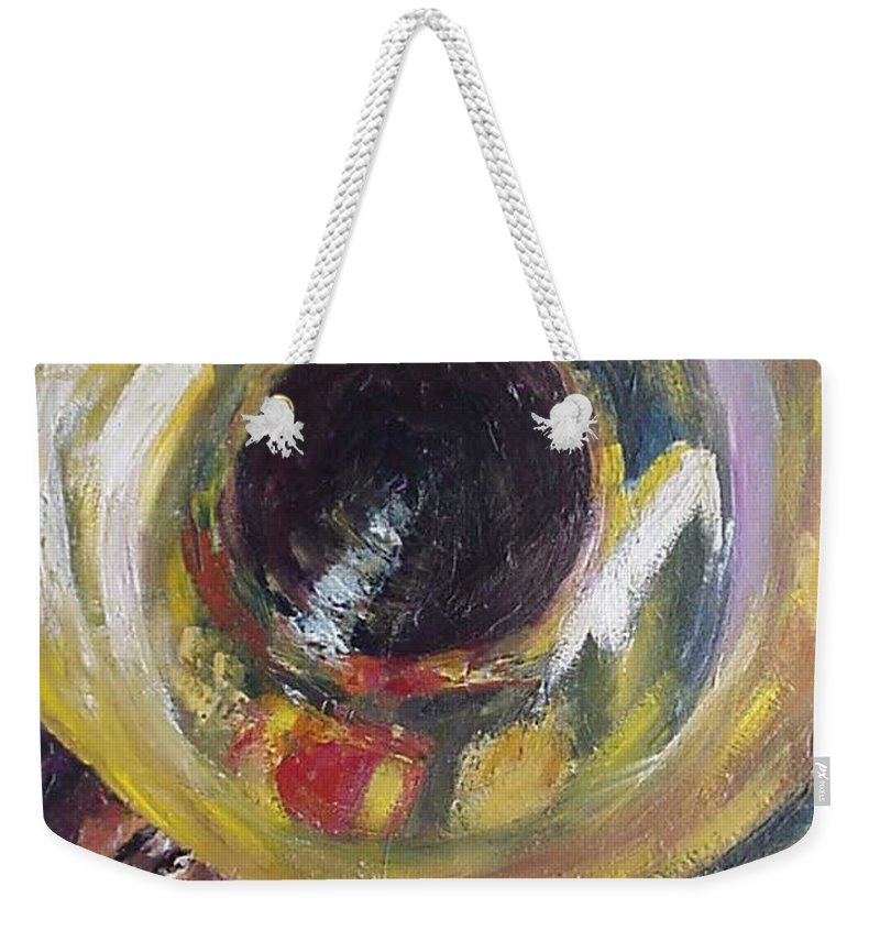 Tuba. Tuba Fats Weekender Tote Bag featuring the painting Tuba Fats by Beverly Boulet