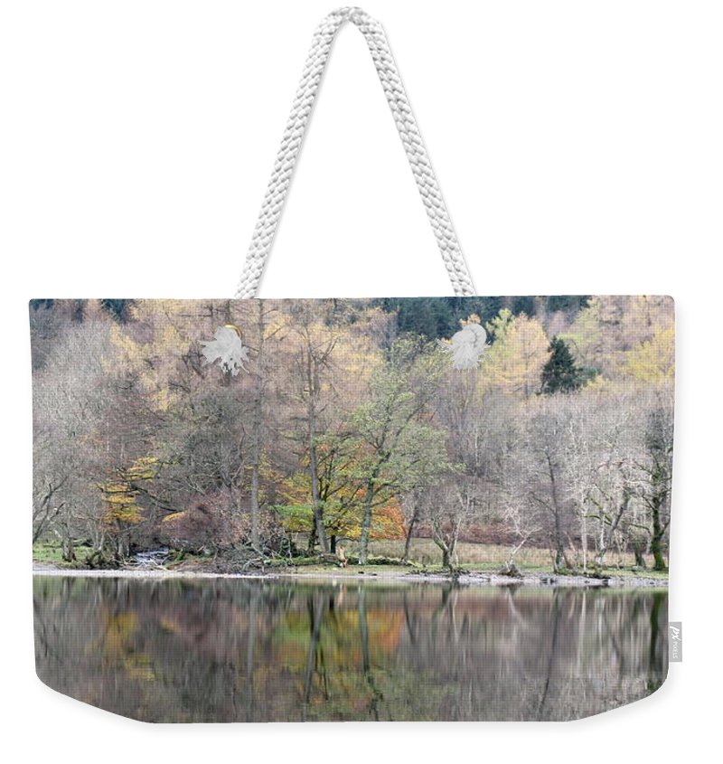 Loch Lubnaig Weekender Tote Bag featuring the photograph Tuesday Afternoon by Maria Joy