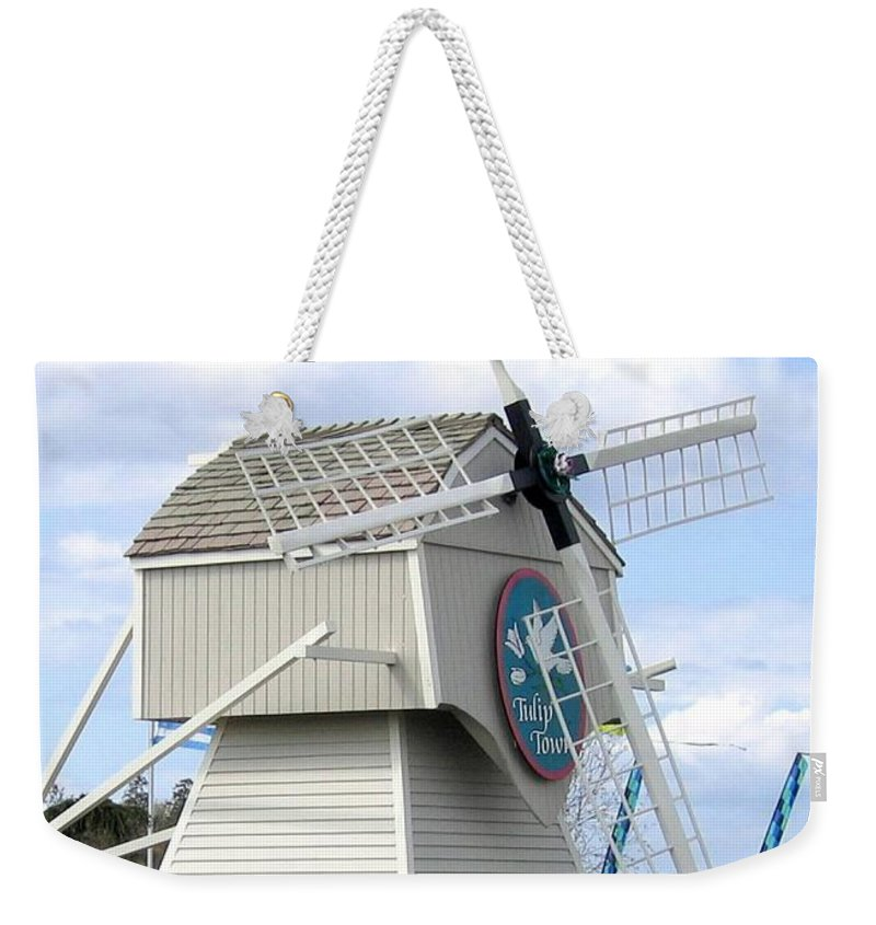 Agriculture Weekender Tote Bag featuring the photograph Tulip Town 1 by Will Borden