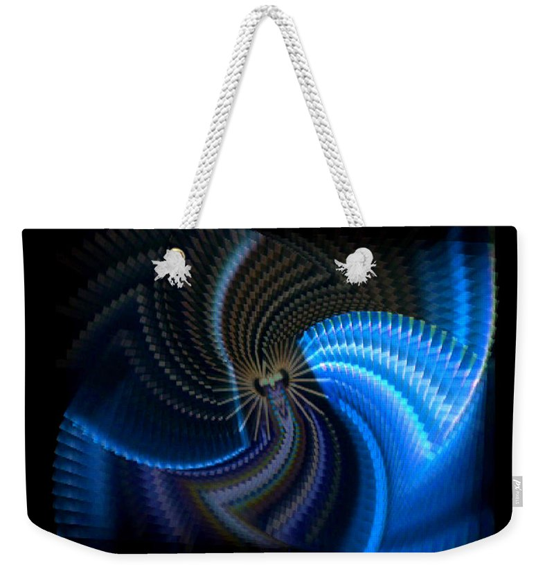 Chaos Weekender Tote Bag featuring the photograph Turbine Dynamo by Charles Stuart