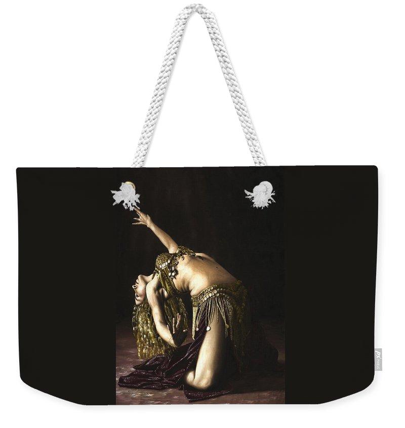 Bellydancer Weekender Tote Bags