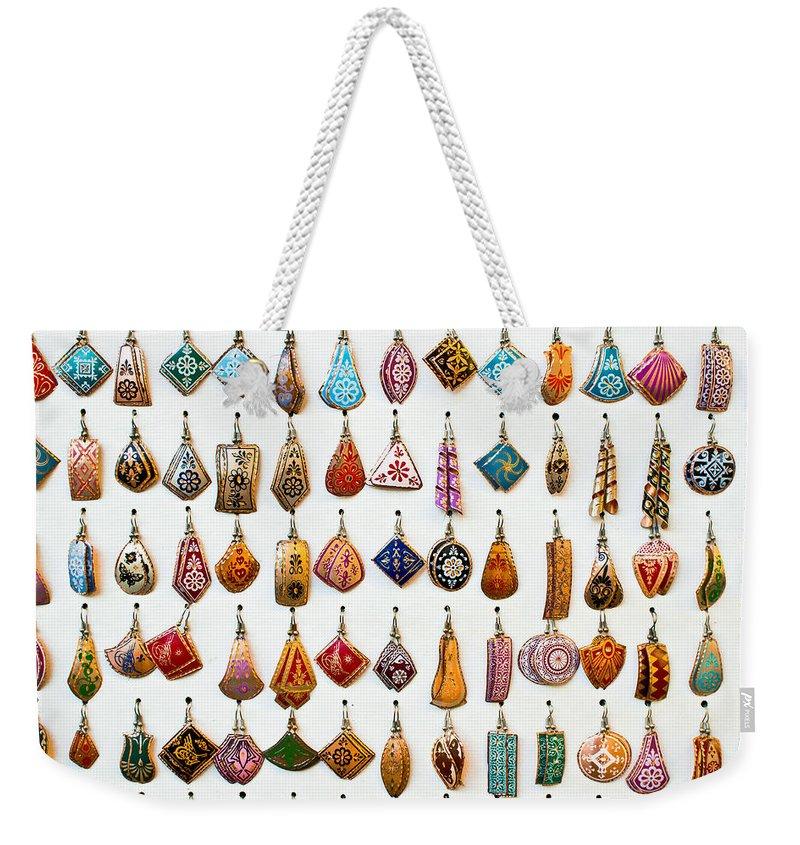 Silver Weekender Tote Bags
