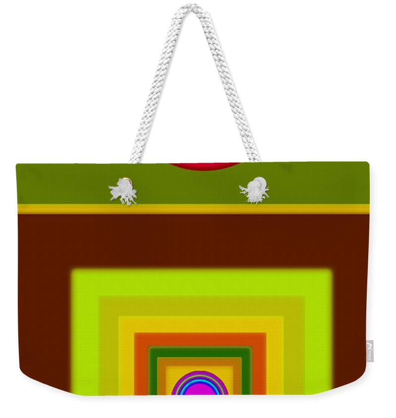 Classical Weekender Tote Bag featuring the digital art Tuscan Sun by Charles Stuart