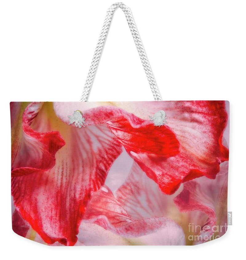 Floral Art Weekender Tote Bag featuring the digital art Twilight by Ella Kaye Dickey