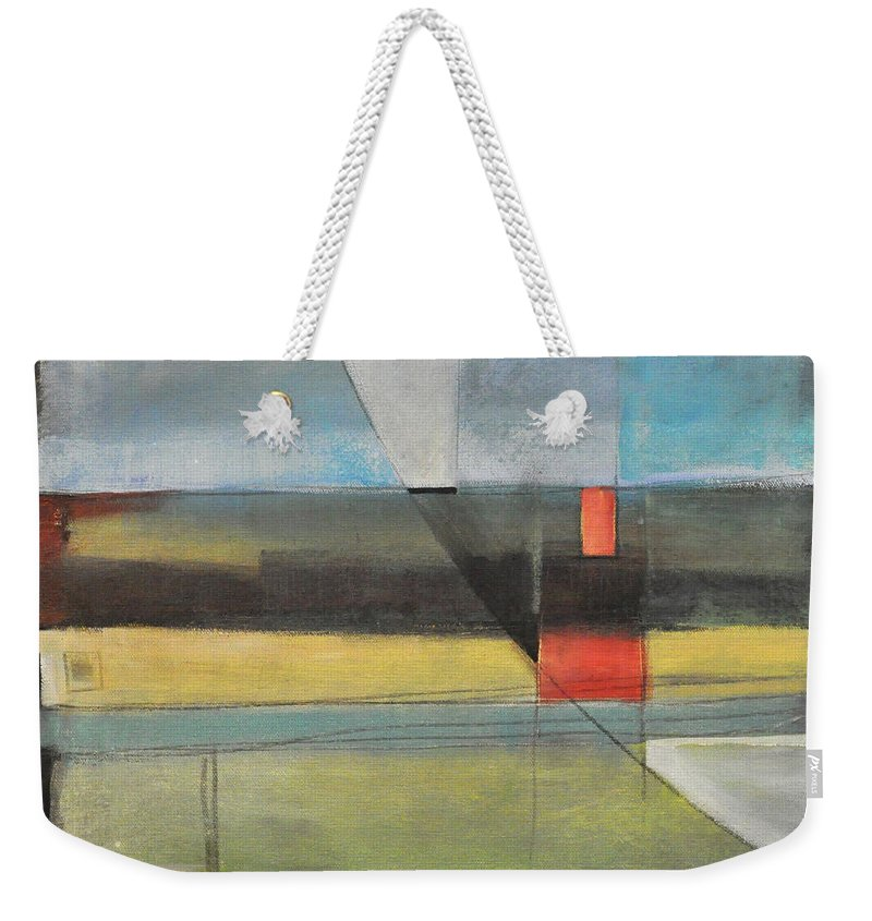 Harvest Weekender Tote Bag featuring the painting Twilight Harvest by Tim Nyberg